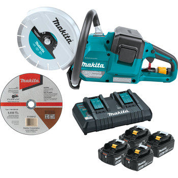 Makita XEC01PT1 18V X2 (36V) LXT Brushless Lithium-Ion 9 in. Cordless Power Cutter with AFT Electric Brake Kit (5 Ah)
