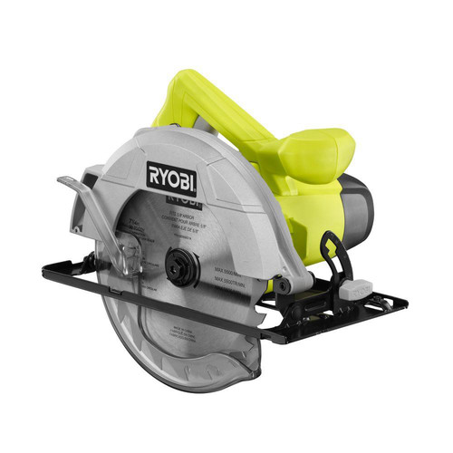 Factory Reconditioned Ryobi ZRCSB125 13 Amp 7-1/4 in. Circular Saw (Green)