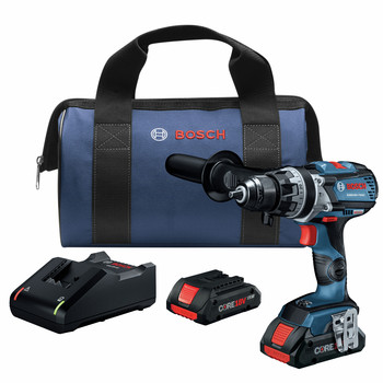 Bosch GSB18V-755CB25 18V Lithium-Ion Brute Tough Connected Ready 1/2 in. Cordless Hammer Drill Kit (4 Ah) image number 0