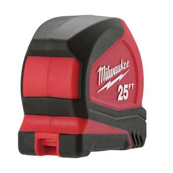 Milwaukee 48-22-7125C 25 ft. Magnetic and Compact Tape Measure (2 Pc) image number 5