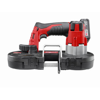 Milwaukee 2429-21XC M12 12V Cordless Lithium-Ion Sub-Compact Band Saw Kit with XC Battery image number 1