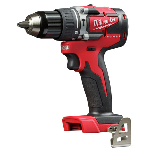 Factory Reconditioned Milwaukee 2802-80 M18 Lithium-Ion Brushless CP 1/2 in. Cordless Hammer Drill (Tool Only) image number 0