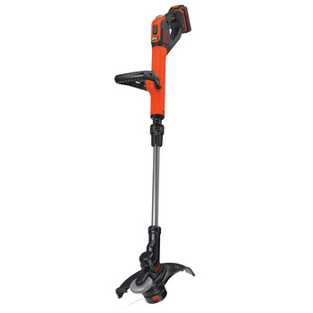 Factory Reconditioned Black & Decker LSTE525R 20V MAX 1.5 Ah Cordless Lithium-Ion EASYFEED 2-Speed 12 in. String Trimmer/Edger Kit image number 2