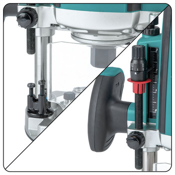 Factory Reconditioned Makita RP2301FC-R 3-1/4 HP Plunge Router Variable Speed image number 5
