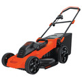 Black & Decker MM2000 13 Amp 20 in. Electric Lawn Mower image number 3