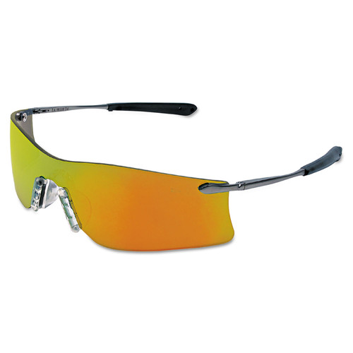 Crews 135-T411R Rubicon Protective Eyewear with Fire Lens