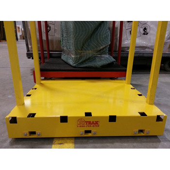 Saw Trax YSD 1,000 lb. Capacity Yel-Low Safety Dolly image number 4