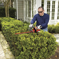 Black & Decker LHT2220B 20V MAX Cordless Lithium-Ion 22 in. Dual Action Hedge Trimmer (Tool Only) image number 5