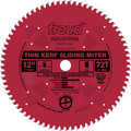 Freud LU91R012 12 in. 72 Tooth Thin Kerf Sliding Compound Miter Saw Blade
