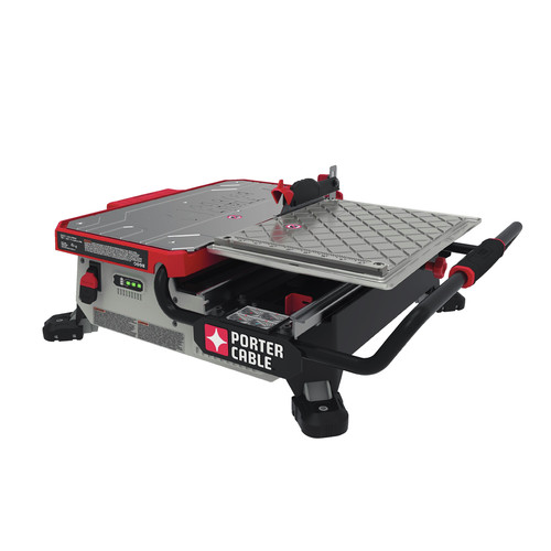 PorterCable PCCLA V MAX In Table Top Wet Tile Saw - Bosch tile saw for sale