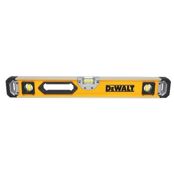 Dewalt DWHT43224 24 in. Non-Magnetic Box Beam Level image number 0