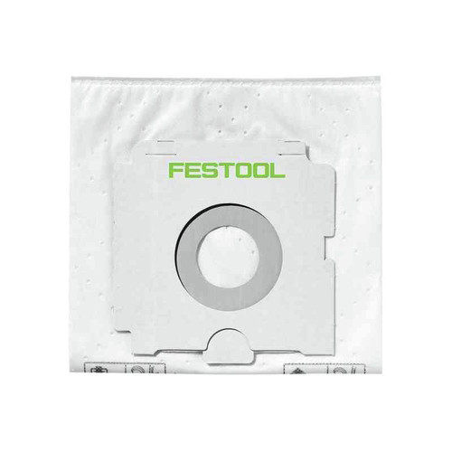 Festool 496187 SELFCLEAN Filter Bag for CT 26 (5-Pack)