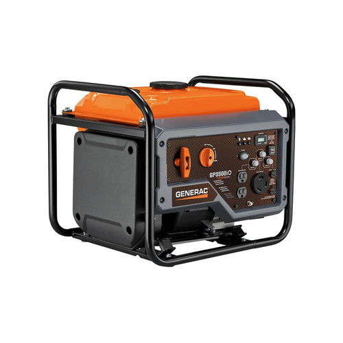 Generac 7128 GP3500iO Open Frame RV Ready Inverter Generator - 3500 Starting Watts with PowerRush Technology