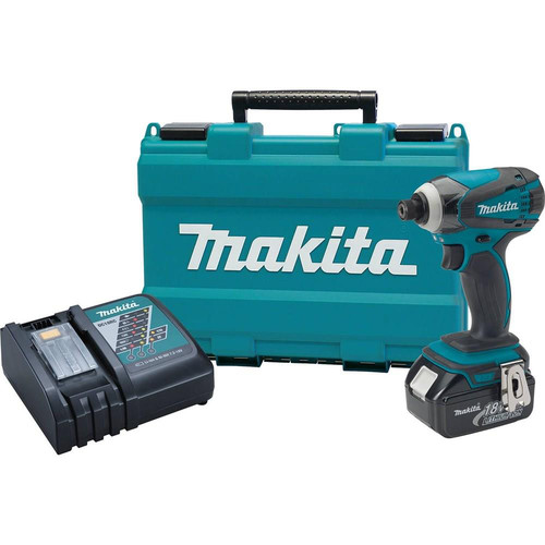 Factory Reconditioned Makita XDT042-R 18V LXT Cordless Lithium-Ion 1/4 in. Impact Driver Kit