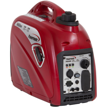 Factory Reconditioned Powermate PM0152000R 80cc Gas 2000 Watt Portable Inverter Generator image number 0