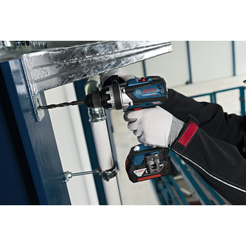 Bosch DDH183-01 18V Lithium-Ion EC Brushless Brute Tough 1/2 in. Cordless Drill Driver Kit (4 Ah) image number 4