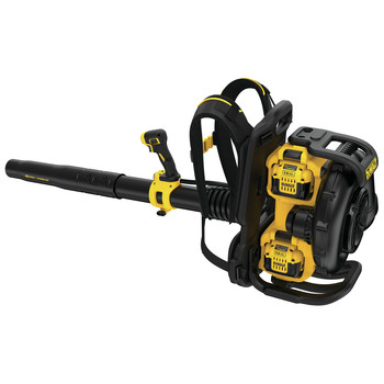 Dewalt DCBL590X2 40V MAX Cordless Lithium-Ion XR Brushless Backpack Blower Kit with 2 Batteries image number 2