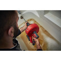 Milwaukee 2571-21 12V Cordless Lithium-Ion Drain Snake Kit with Bucket image number 7
