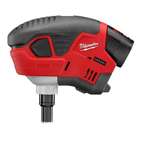 Factory Reconditioned Milwaukee 2458-81 M12 12V Cordless Lithium-Ion Palm Nailer Kit