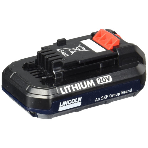 Lincoln Industrial 1871 20V 1.5 Ah Lithium-Ion Battery image number 0