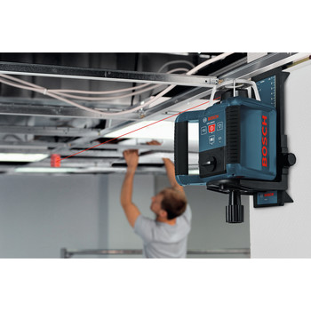 Bosch GRL300HV Self-Leveling Rotary Laser with Layout Beam image number 4