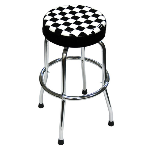 ATD 81055 Shop Stool with Checker Design image number 0