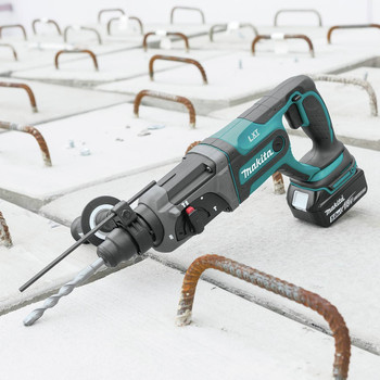 Makita XRH04T 18V LXT Cordless Lithium-Ion SDS-Plus 7/18 in. Rotary Hammer Kit image number 10