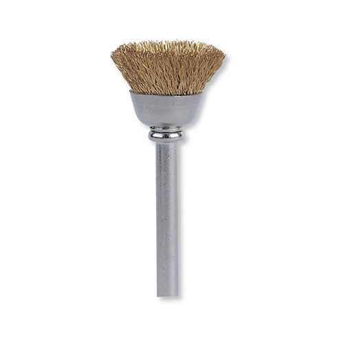 Dremel 536 1/2 in. Cup Shape Brass Brush