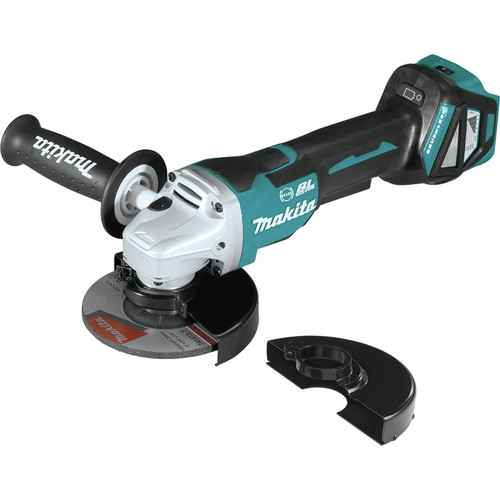 Makita XAG20Z 18V LXT Lithium-Ion Brushless Cordless 4-1/2 in. or 5 in. Paddle Switch Cut-Off/Angle Grinder with Electric Brake (Bare Tool)