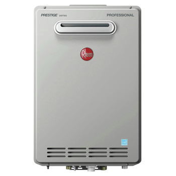 Rheem RTGH-84XLN-2 Prestige 8.4 GPM Natural Gas High Efficiency Outdoor Tankless Water Heater