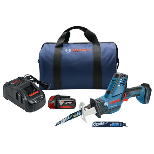 Bosch GSA18V-083B11 18V Compact Reciprocating Saw Kit image number 0