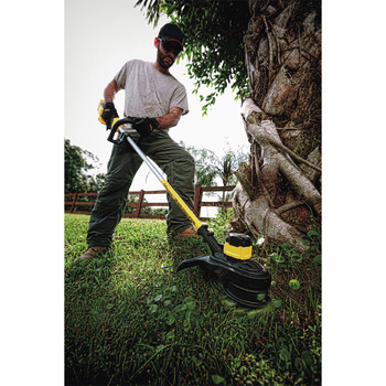 Factory Reconditioned Dewalt DCST920P1R 20V MAX 5.0 Ah Cordless Lithium-Ion Brushless String Trimmer image number 5