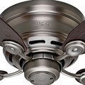 Hunter 51060 42 in. Low Profile IV Antique Pewter Ceiling Fan image number 4