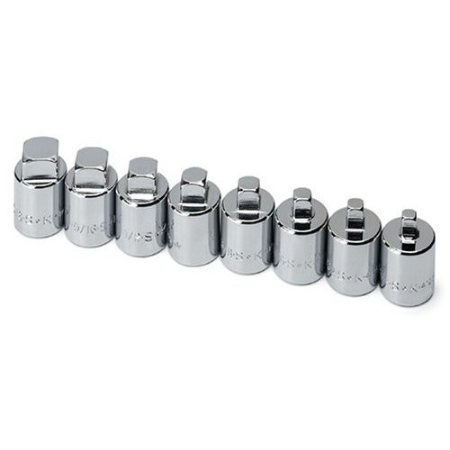 SK Hand Tool 19798 8-Piece 1/2 in. Drive Male Pipe Plug Socket Set
