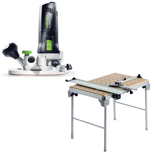 Festool MFK 700 Modular Trim Router plus Multi-Function Work Table