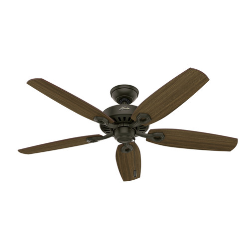 Hunter 53242 52 in. Builder Elite ENERGY STAR New Bronze Ceiling Fan