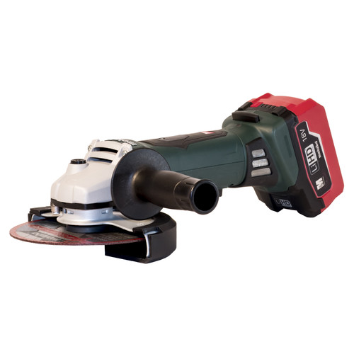 Metabo WP18 LTX 150 18V 5.5 Ah Cordless LiHD 6 in. Angle Grinder Kit