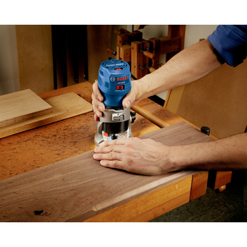 Bosch GKF125CEN 1.25 HP Variable Speed Palm Router with LED image number 8