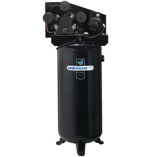 Industrial Air ILA4546065 4.7 HP 230V 60 Gallon Vertical Stationary High-Flow Air Compressor