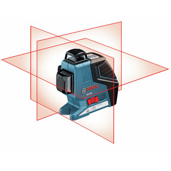 Factory Reconditioned Bosch GLL3-80-RT 360 Degree 3-Plane Leveling and Alignment Line Laser image number 4
