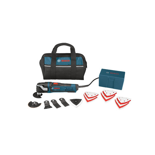 Factory Reconditioned Bosch MX30EC-RT 3.0 Amp Multi-X Oscillating Tool Kit with 21 Accessories