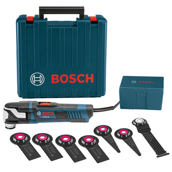 Bosch GOP55-36C1 5.5 Amp StarlockMax Oscillating Multi-Tool Kit with 8-Piece Accessory Kit image number 0