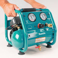 Factory Reconditioned Makita AC001-R 0.6 HP 1 Gallon Oil-Free Hand Carry Air Compressor image number 7