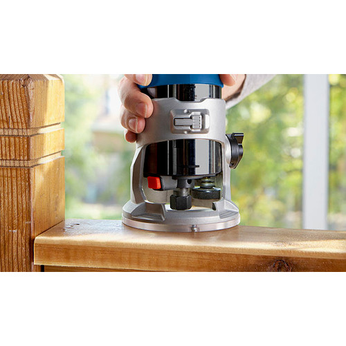 Bosch GKF125CEN 1.25 HP Variable Speed Palm Router with LED image number 10
