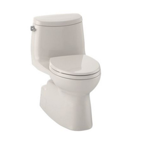 TOTO MS614114CEFG#12 Carlyle II Elongated 1-Piece Floor Mount High Efficiency Toilet (Sedona Beige)