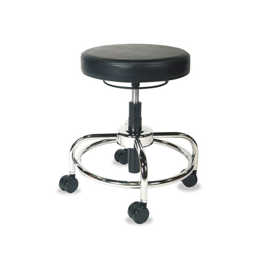 Alera ALECS614 HL Series Height-Adjustable Utility Stool (Black) image number 0