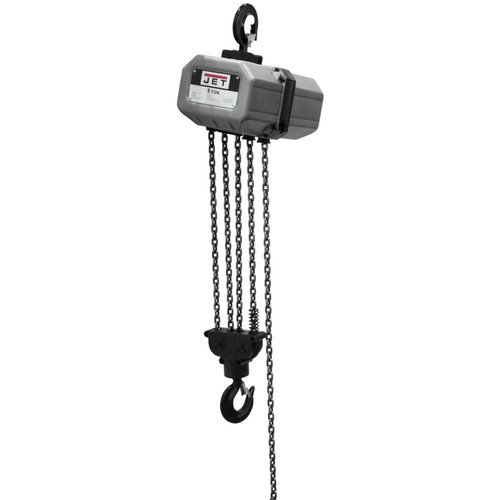 JET 5SS-3C-10 5 Ton Capacity 10 ft. 3-Phase Electric Chain Hoist
