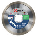 Bosch DBX4543S X-LOCK Continuous Rim 4-1/2 in. Diamond Blade image number 0