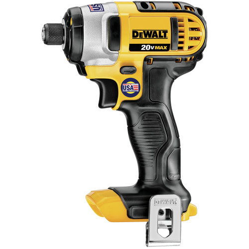 Dewalt DCF885B 20V MAX Cordless Lithium-Ion 1/4 in. Impact Driver (Tool Only) image number 0