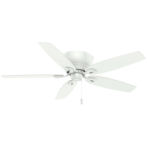 Casablanca 54103 Durant 54 in. Transitional Snow White Plywood Indoor Ceiling Fan
